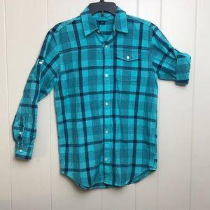 Gap Casual Button Down Dress Shirt